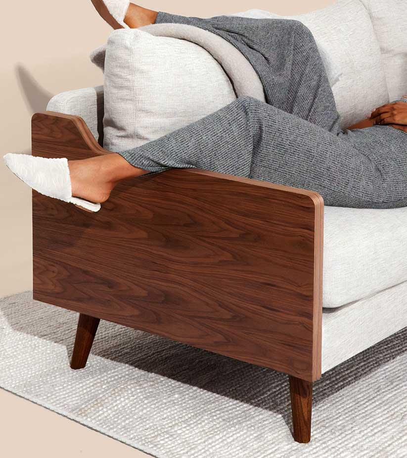 Modern armchair